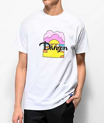 Danson Moon River White T-Shirt