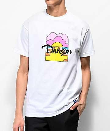 Danson Moon River camiseta blanca