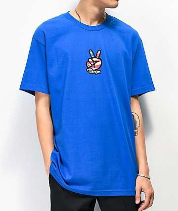 Danson Sign Language camiseta azul