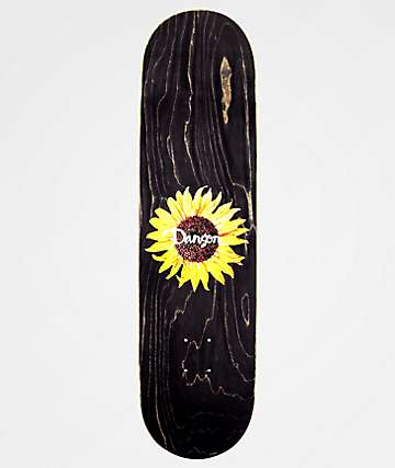 "Danson Sunflower 8.25"" Skateboard Deck"
