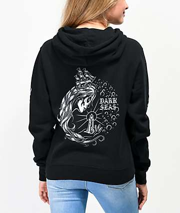 Dark Seas Enchantress Black Hoodie