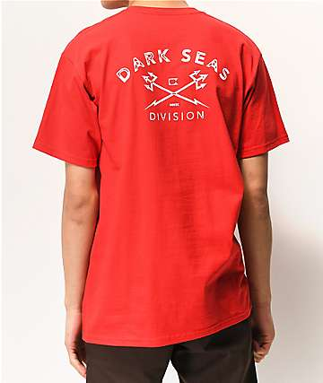 Dark Seas Rough Cut Red T-Shirt