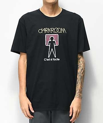 Darkroom C'est Si Facile Black T-Shirt