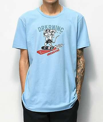 Darkroom Curb Ratz Light Blue T-Shirt