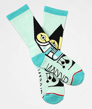 Darkroom Harlequin Crew Socks