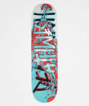 """Deathwish Deathspray Aqua 8.25"""" Skateboard Deck"""