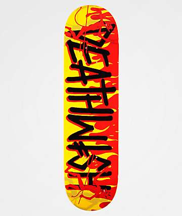 "Deathwish Deathspray Dancing Devil 8.4"" Skateboard Deck"