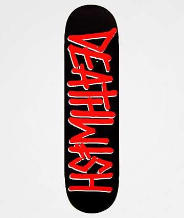 """Deathwish Deathspray Red 8.25"""" Skateboard Deck"""