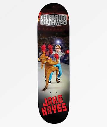 "Deathwish Hayes Celebrity 8.125"" Skateboard Deck"