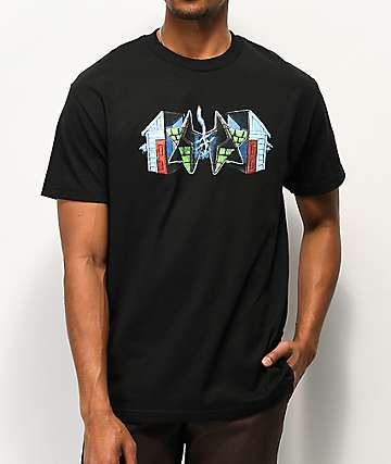 Deathwish x Pyramid Country Compound Black T-Shirt