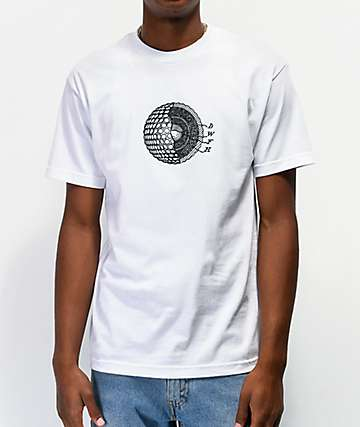 Deathworld Cellular White T-Shirt