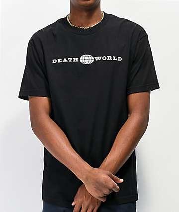 Deathworld Global Black T-Shirt