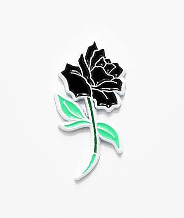 Deja Pins Black Rose Pin