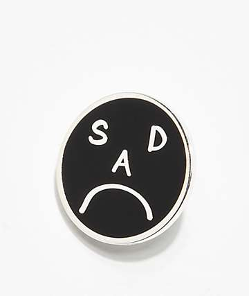 Deja Pins Sad Enamel Pin