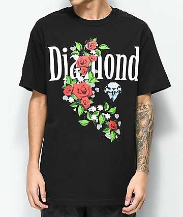 Diamond Supply Co. Garden Jewel Black T-Shirt
