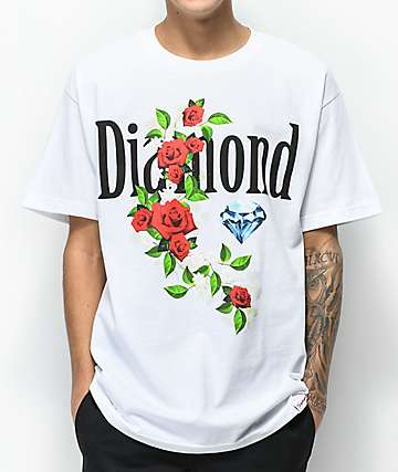Diamond Supply Co. Garden Jewel White T-Shirt