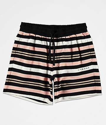 Diamond Supply Co. Marquise Black Sweat Shorts
