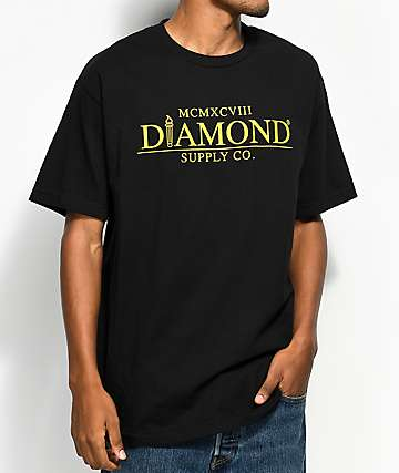Diamond Supply Co. Mayfair Black T-Shirt