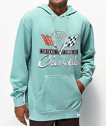 Diamond Supply Co. x Chevelle Emblem Teal Hoodie