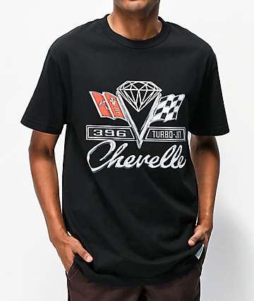 Diamond Supply Co. x Chevelle Emblem camiseta negra