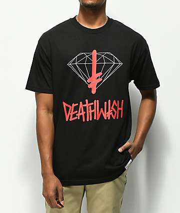 Diamond Supply Co. x Deathwish Black T-Shirt