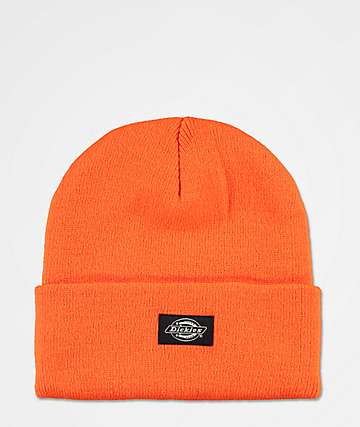 Dickies 67 Hi Viz Orange Beanie