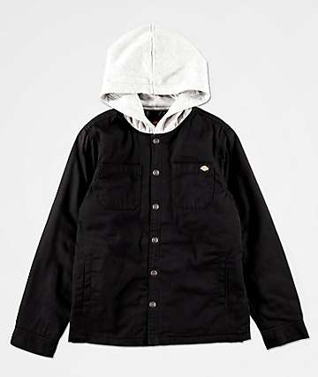 Dickies Boys Black Work Jacket