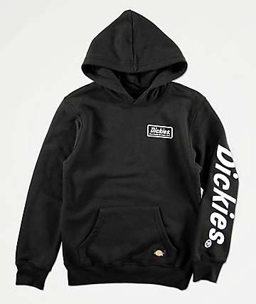 Dickies Boys Genuine Black Hoodie