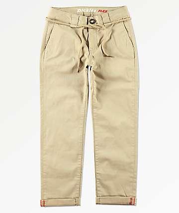 Dickies Boys Khaki Skinny Pants