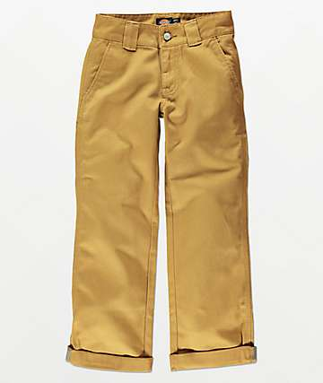 Dickies Boys Khaki Utility Pants