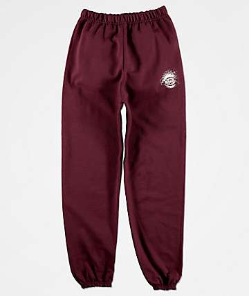 Dickies Boys Maroon Jogger Sweatpants