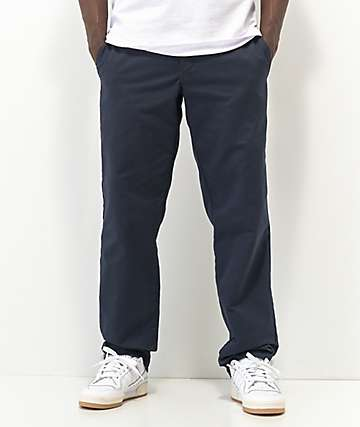 Dickies Flex Dark Navy Slim Chino Work Pants