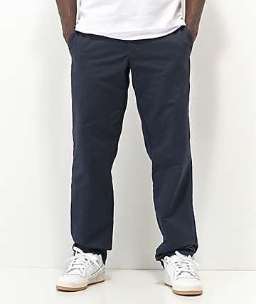 Dickies Flex pantalones chinos de trabajo en azul marino