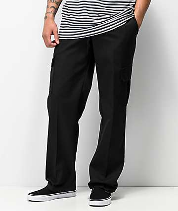 Dickies Regular Black Cargo Pants