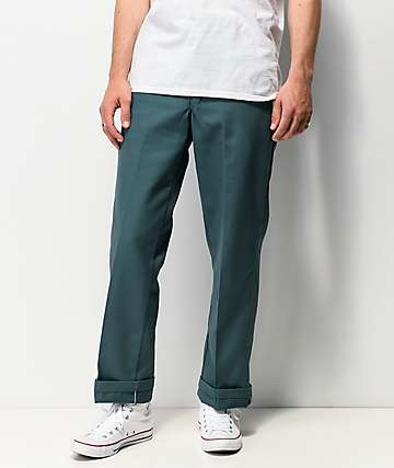 Dickies Regular Green Work Pants