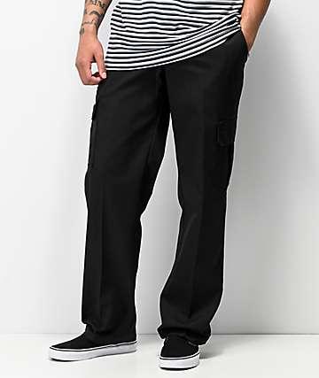 Dickies Regular pantalones cargo en negro