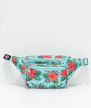 Dickies Tropical Dot Hip Sack Fanny Pack