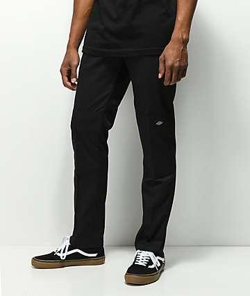 Dickies pantalones de trabajo con rodillas reforzadas en negro