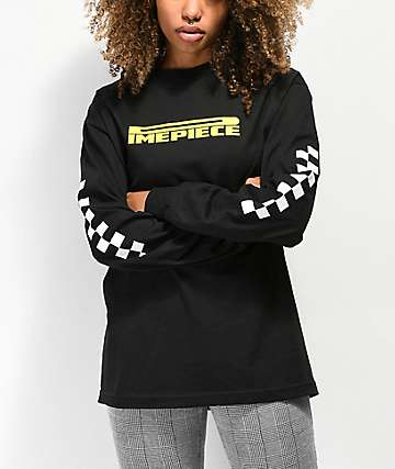 Dimepiece Black Long Sleeve T-Shirt
