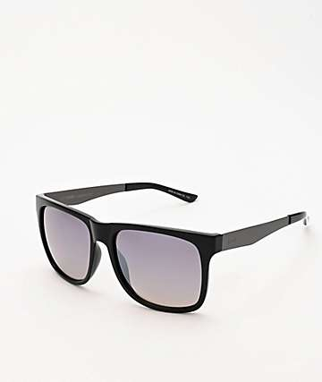 Dot Dash Admiral Black & Grey Chrome Sunglasses