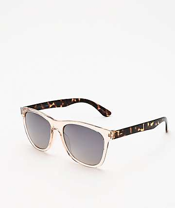Dot Dash Coolidge Buff Crystal & Tortoise Shell Sunglasses
