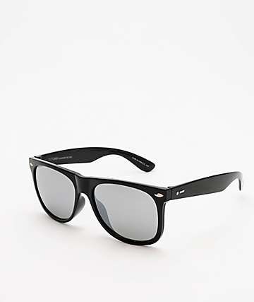 Dot Dash Kerfuffle Black Gloss & Wild Chrome Sunglasses