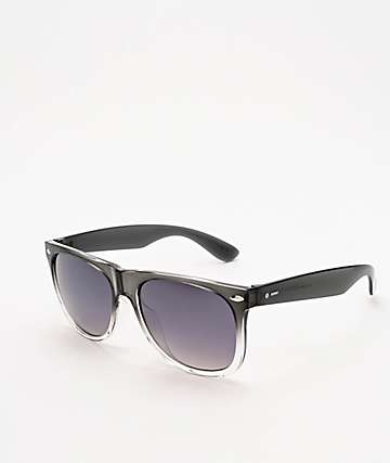 Dot Dash Kerfuffle Translucent Grey Fade Sunglasses