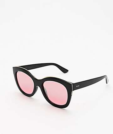 Dot Dash Mysteria Black Sunglasses