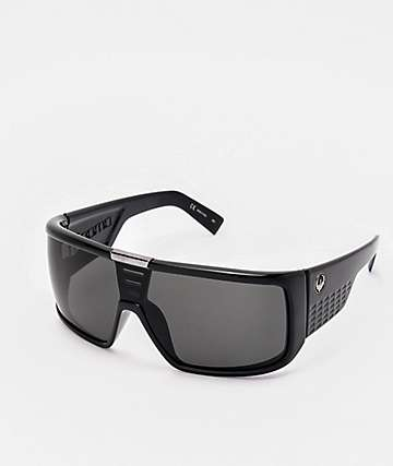 Dragon Domo Gloss Black & Jet Grey Sunglasses