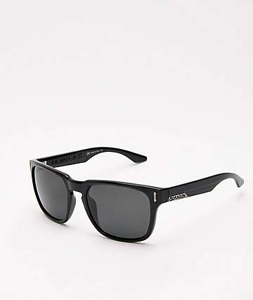 Dragon Monarch XL Black Polarized Sunglasses