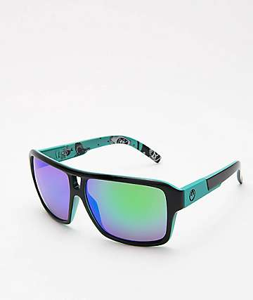 Dragon The Jam Jet Teal Green Ion Sunglasses