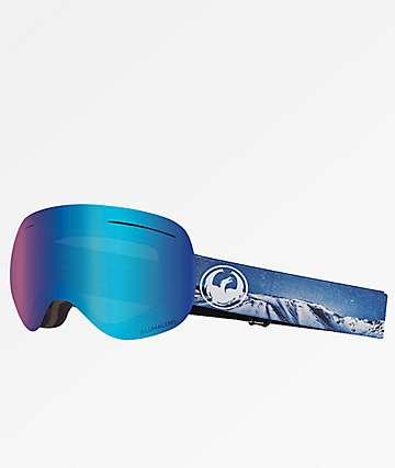 Dragon XI Realm Blue Ion Snowboard Goggles