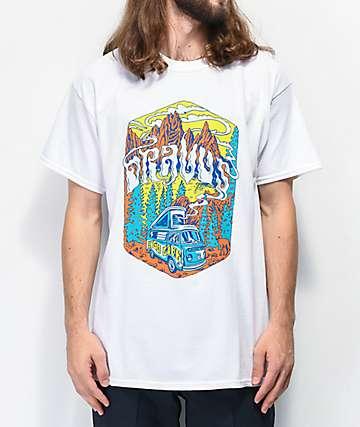 Dravus Bus Drift White T-Shirt