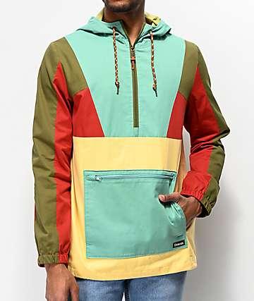 Dravus Gnark chaqueta anorak multi color